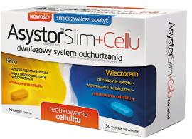 Asystor Slim + Cellu - wygląd opakowania