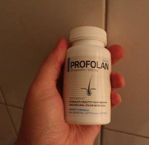 Tabletki Profolan na łysienie
